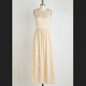 Modcloth Ethereal Girl Dress Maxi